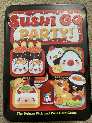 Sushi Go Party! Deluxe Version Board Game for Sale in Costa Mesa, CA
