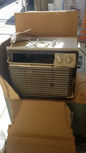 Sharp AC, wrks well for this hot time, throw it in the window and turn on for Sale in Hesperia, CA