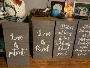1 Corinthians 13 Wedding Aisle signs for Sale in Cincinnati, OH