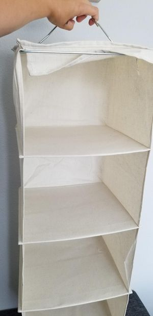 6 Shelf Hanging Closet Organizer for Sale in Anaheim, CA