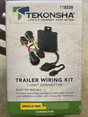 Trailer wiring kit for 1987-95 GMC full size van for Sale in Orange, CA