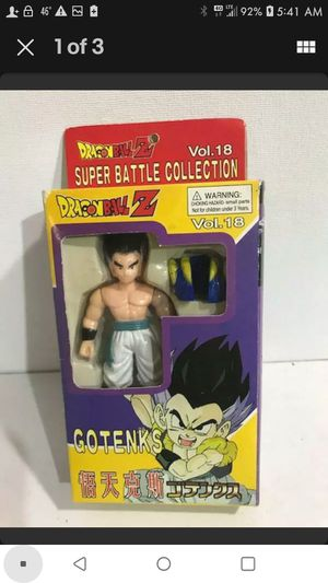 DRAGONBALL Z Super Battle Collection Figure GOTENKS Vol 18 Fusion New Vintage Collectible Toy for Sale in Kingsport, TN