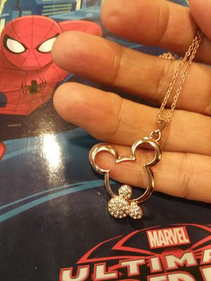 Beautiful Mickey Mouse Necklace with Crystals for Sale in The Bronx, NY