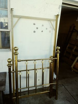 """70's MONTGOMERY WARD TWIN BRASS FRAME"" for Sale in NEW CUMBERLND, PA"