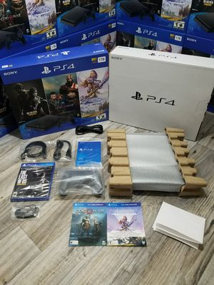 🚩 Brand New Ps4 Playstation 4 Slim 1TB (1000gb) Never Used + 3 FREE Games + 1 Year Manufacturer's Warranty 🚩 for Sale in Phoenix, AZ