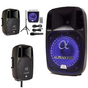 """Alphasonik 12"""" Powered 2000W PRO DJ Amplified Bluetooth Speaker for Sale in Gardena, CA"""