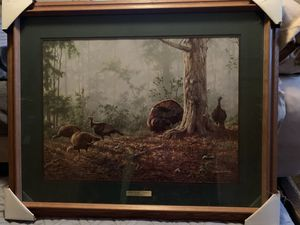 Spring at Last-Turkeys Print by Jim Hautman for Sale in WI, US