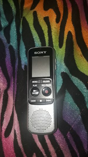 Sony voice recorder for Sale in Smyrna, TN
