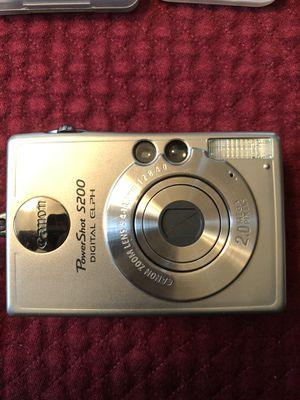 Canon PowerShot S200 2MP Digital ELPH Camera for Sale in Fredericksburg, VA