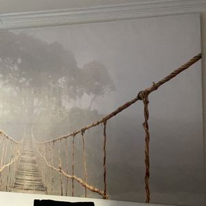 Large Ikea Canvas Picture - Jungle bridge for Sale in Arlington, VA