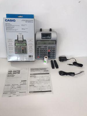Casio Inc. HR-100TM Plus mini desktop printing Calculator for Sale in Vista, CA