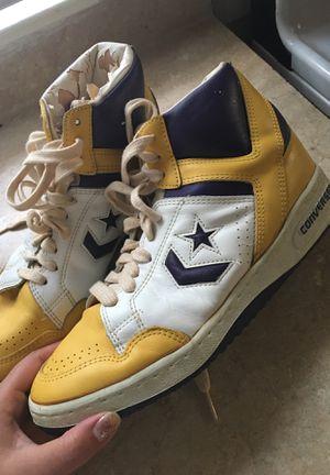 Converse weapon magic Johnson sneakers obo for Sale in Oak Park, MI
