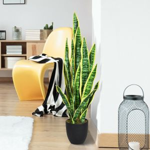 "35.5"" Indoor-Outdoor Decoration Fake Artificial Snake Plant for Sale in Culver City, CA"