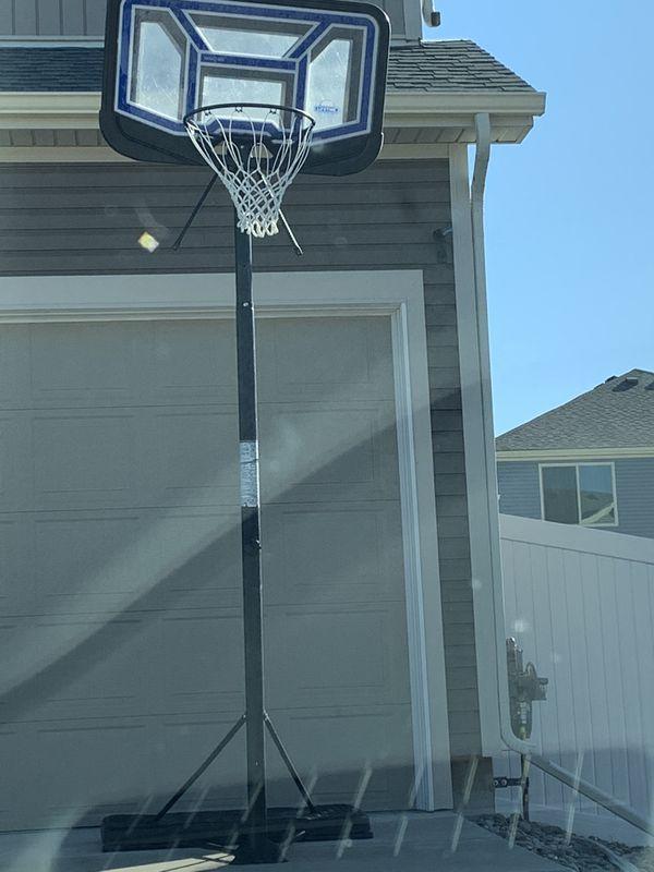 Free basketball hoop