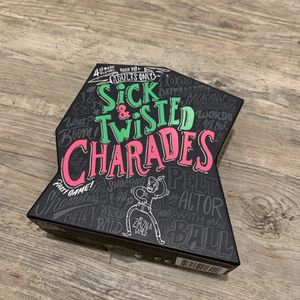 Sick & Twisted Charades Adult Board Game for Sale in Carrollton, TX