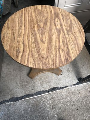 Breakfast table and chair for Sale in Essex, MD