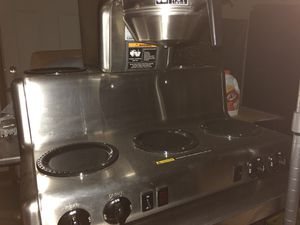 Commercial five burner coffee maker stainless steel for Sale in Winter Haven, FL