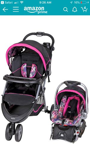 Baby trend floral garden stroller travel system for Sale in Tampa, FL