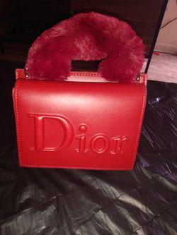 Red Dior tote purse for Sale in Foley,  AL
