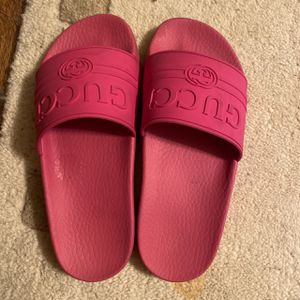 Pink Gucci slides for Sale in Silver Spring, MD