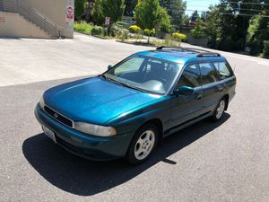 1996 Subaru Legacy LSi wagon // auto. // 166k // clean title // leather // sunroof for Sale in Portland, OR