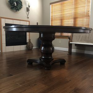 """70"""" Dining Table With Protective Glass Top for Sale in Oswego, IL"""