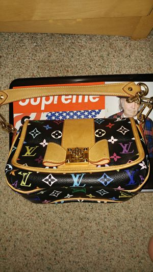 Louis Vuitton Black/Multicolor Patti Bag/Purse for Sale in Suffield, CT