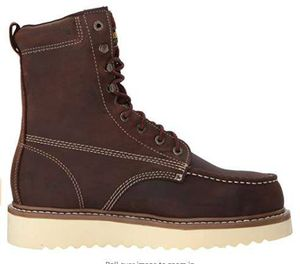 NEW Size 9.5 - Wolverine Men Safety Work Boot Loader Steel Toe Wedge for Sale in San Jose, CA