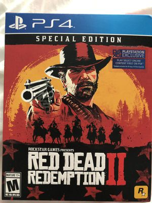 PS4 - Red Dead Redemption 2 - Special Edition for Sale in Everett, WA