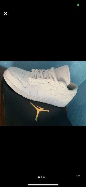 Jordan 1 all white new size 10 for Sale in Salt Lake City, UT