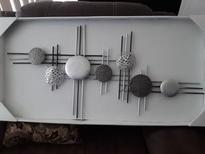 Brand new modern metal wall decoration for Sale in Los Angeles, CA