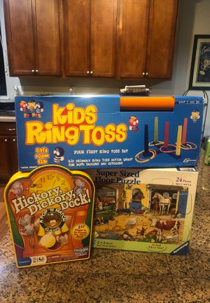 2 Games and 1 Floor Puzzle for Sale in Salem, OR