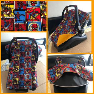 Spider man car seat canopy for Sale in Temple City, CA