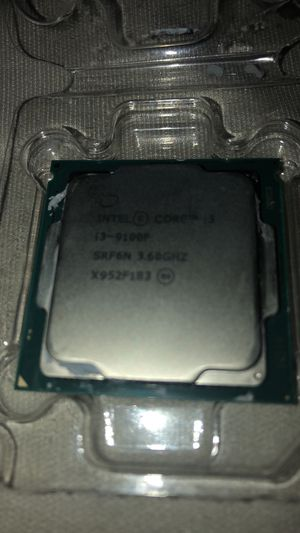 Intel i3 9100f for Sale in Overland Park, KS