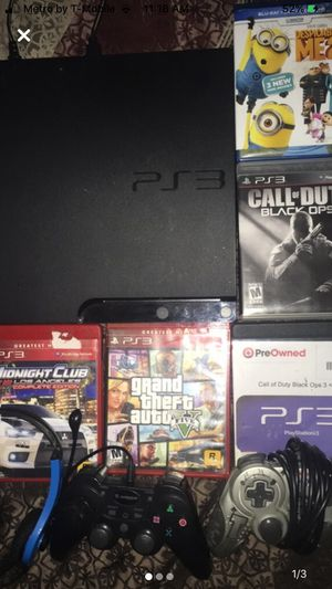 PS3 console price negotiable for Sale in TEMPLE TERR, FL
