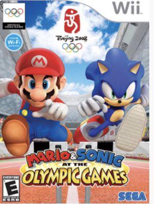 Gently use Nintendo Wii game Mario & Sonic Beijing2008 for Sale in Garner, NC
