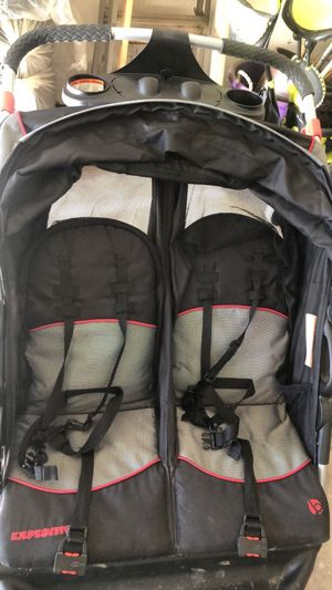 Baby trend expedition double stroller for Sale in Peoria, IL