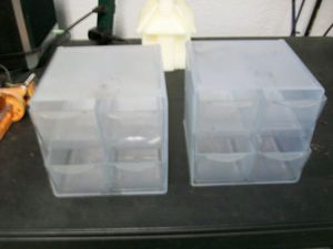 2 small 4 drawer storage organizers for Sale in Winter Haven, FL