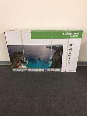 "New Element 55"" 4K UHD Smart Android TV with Google Assistant for Sale in Maple Grove, MN"