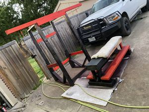Squat/Bench Rack and Bench for Sale in Dallas, TX
