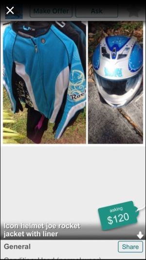 Girls motorcycle gear for Sale in Princeton, FL