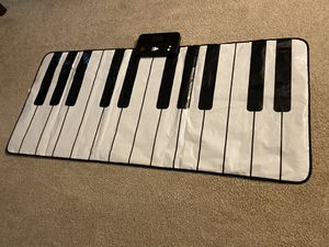 FAO Schwarz Giant Piano Keyboard Dance Mat Floor Feet Dancing to Play Music Big for Sale in Carol Stream, IL