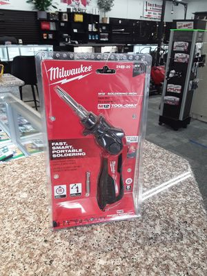 Milwaukee M12 Soldering Iron for Sale in Eastlake, OH