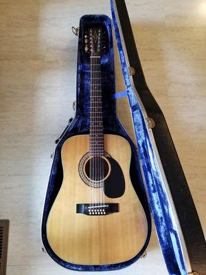 Vintage 1970's Alvarez Japan 5021 12 String Acoustic Guitar w/ Hardshell Case for Sale in Woodburn, OR
