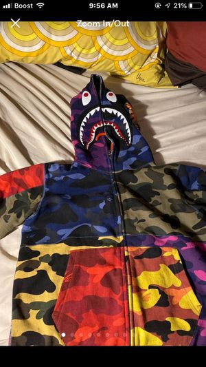 Multi color Bape hoodie for Sale in Queens, NY