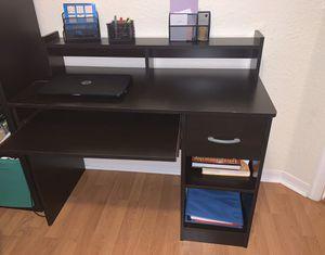Wooden desk for Sale in Tamarac, FL