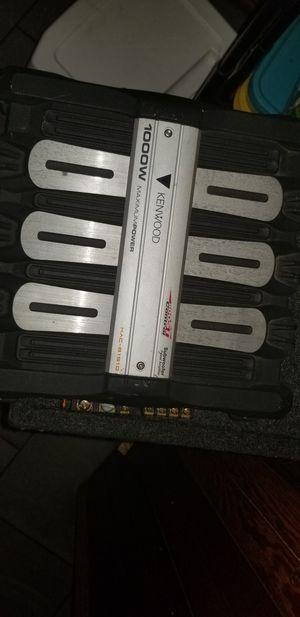 kenwood 1000 Watts Subwoofer power Amplifier for Sale in Boston, MA