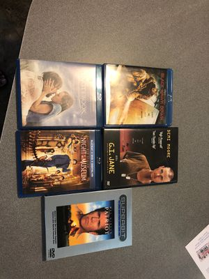 Blu-Ray/DVD movies LOT - great movies! for Sale in Mechanicsburg, PA
