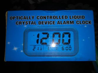 Brand new liquid crystal alarm clock for Sale in Hawthorne,  CA