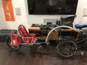 WeeHoo Turbo Bike Trailer for Sale in Dallas, TX